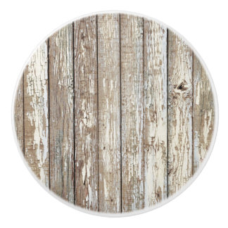 Weathered Board Ceramic Knob