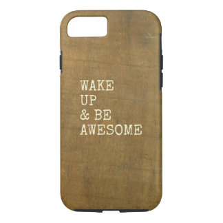 Weathered Board Reclaimed Barn Wood Plank iPhone 7 Case