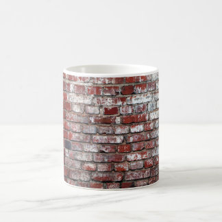 Weathered Brick Wall Pattern Coffee Mug
