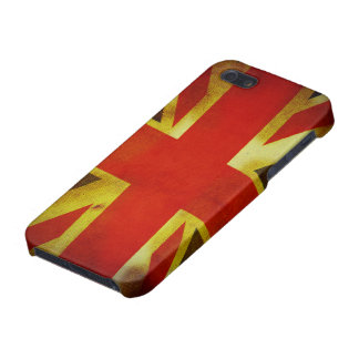 Weathered British Flag iPhone 5 Cases