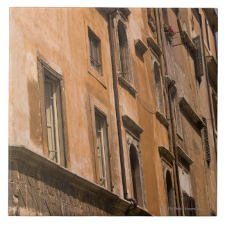 Weathered buildings, Rome, Italy 3 Ceramic Tiles