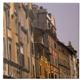 Weathered buildings, Rome, Italy Tiles