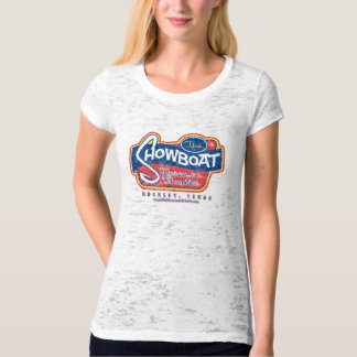 Weathered & Burned out Showboat Drive in Logo Tee
