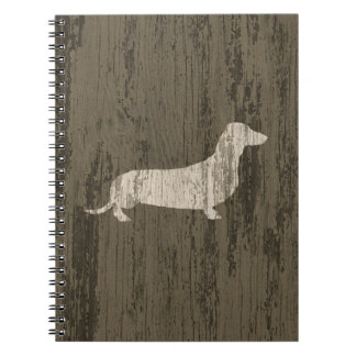 Weathered Dachshund Notebook