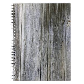 Weathered Door Planks Photo Notebook