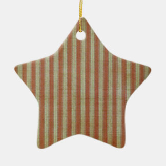 Weathered Flag Ceramic Star Ornament