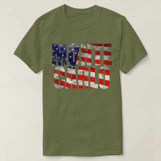 Weathered Flag Monte Carlo Fatigue Green M T Shirt