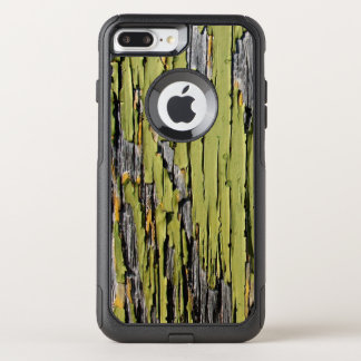 Weathered Green Barn Wood OtterBox Commuter iPhone 8 Plus/7 Plus Case