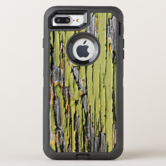 Weathered Green Barn Wood OtterBox Defender iPhone 8 Plus/7 Plus Case