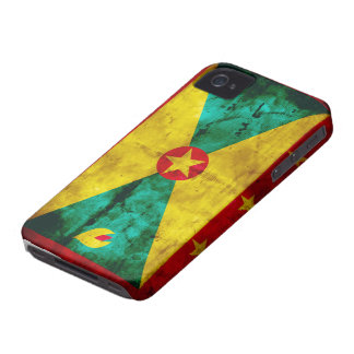 Weathered Grenada Flag iPhone 4 Cover