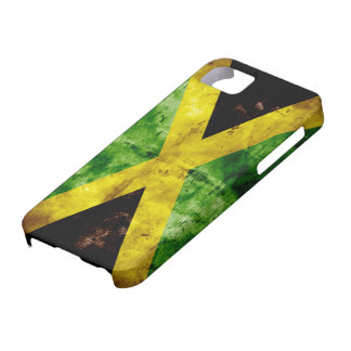 Weathered Jamaica Flag iPhone 5 Cover