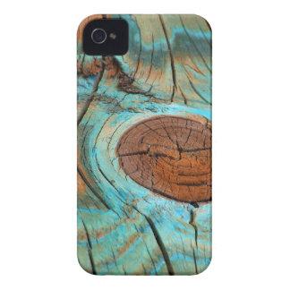 Weathered Knothole iPhone 4 Case-Mate Barely There iPhone 4 Case-Mate Cases