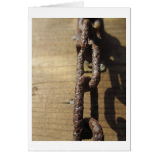 Weathered Links Card
