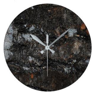 Weathered N Worn Wood Clock