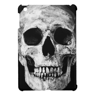 Weathered Old Skull - Black & White Case For The iPad Mini