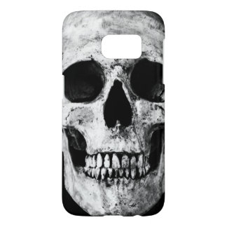 Weathered Old Skull - Black & White Samsung Galaxy S7 Case