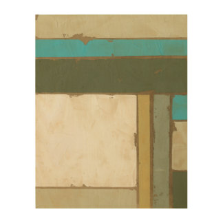 Weathered Panel Painting by Jennifer Goldberger