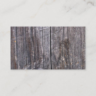 Wooden business cards profile cards zazzle ca weathered power pole with staples and nail business card reheart Image collections