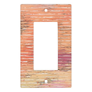Weathered Reed Blinds light switch cover sing rock
