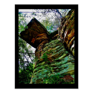 Weathered Rocks Poster