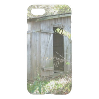 Weathered Rustic Shed iPhone 7 Case