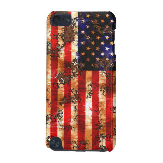 Weathered Rusty American Flag iPod Touch 5G Cover