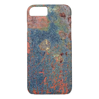 Weathered Rusty Metal Texture iPhone 7 Case