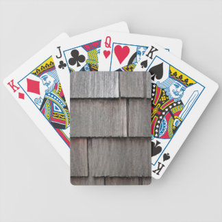 Weathered Shingles Bicycle Playing Cards
