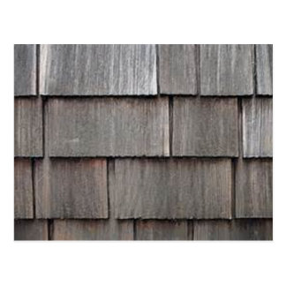Weathered Shingles Postcard