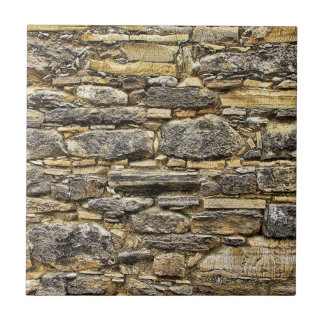 Weathered Stone Old Wall Texture Tile