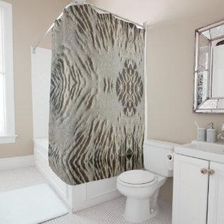 Weathered Stone Shower Curtain