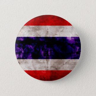 Weathered Thailand Flag 2 Inch Round Button