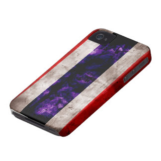 Weathered Thailand Flag iPhone 4 Cases