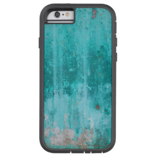 Weathered turquoise concrete wall texture tough xtreme iPhone 6 case