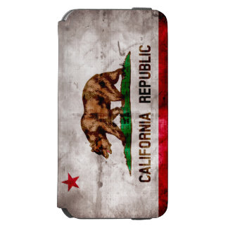 Weathered Vintage California State Flag Incipio Watson™ iPhone 6 Wallet Case