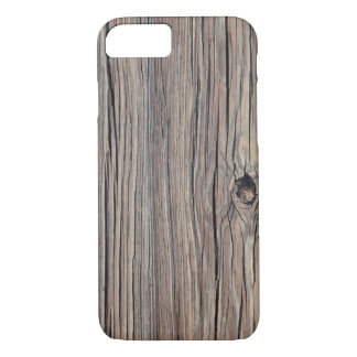 Weathered Wood Background - Customized iPhone 7 Case