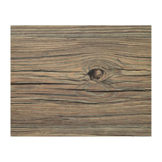 Weathered Wood Board Background Texture Wood Print