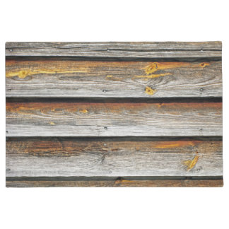 Weathered Wood Boards. Doormat