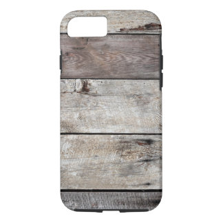Weathered Wood Boards iPhone 7 Case