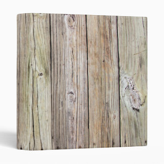 Weathered Wood Dock Boards Avery 3 Ring Binder