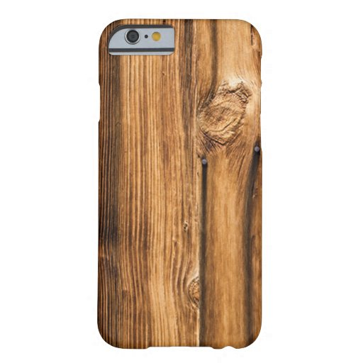 Weathered Wood Grain iPhone 6 Case
