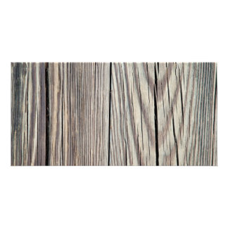 Weathered Wood Plank w Grain Background Template