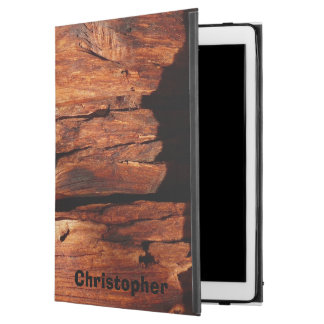 "Weathered Wood Siding Personalized Rugged Folio iPad Pro 12.9"" Case"