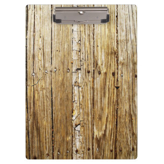 Weathered Wooden Deck Clipboard