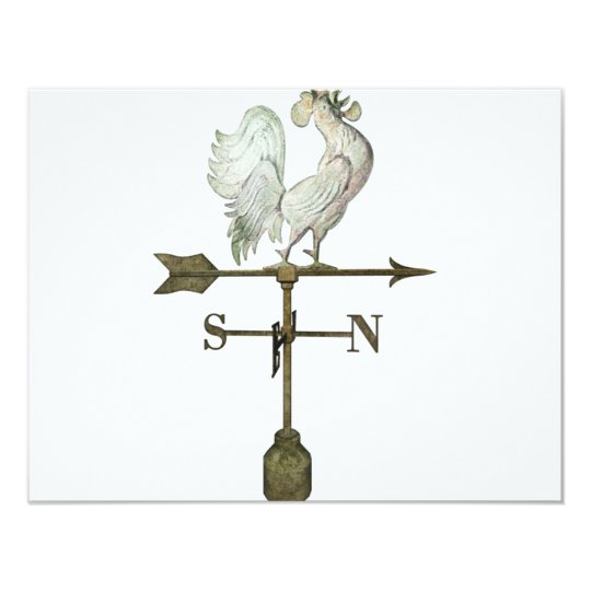 "weathervane 4.25"" x 5.5"" invitation card"