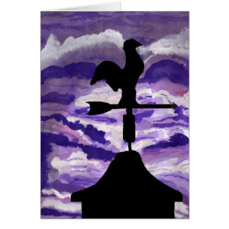 Weathervane Card