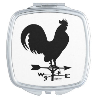 Weathervane Rooster Makeup Mirrors