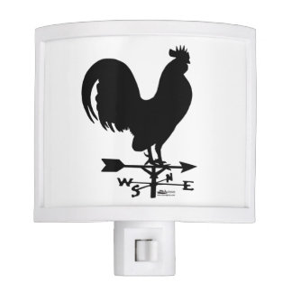 Weathervane Rooster Night Light