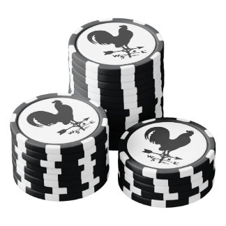Weathervane Rooster Poker Chips