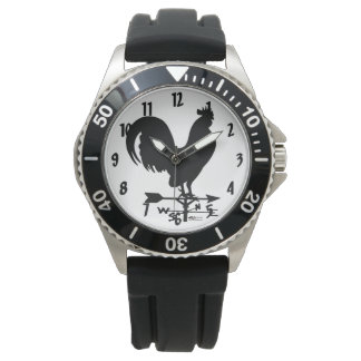 Weathervane Rooster Wristwatches